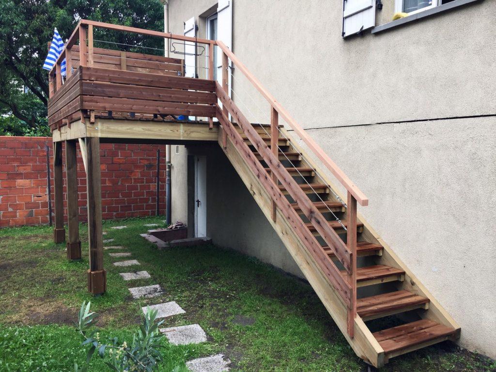 Super Réalisations Terrasse - Cedar Construction UH66
