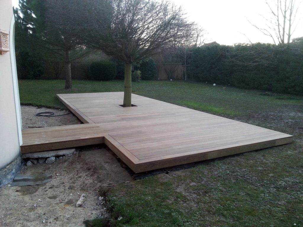 Realisations Terrasse Cedar Construction